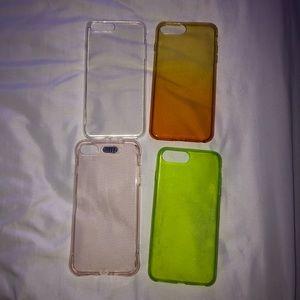 Bundle of iphone 7/8 plus cases
